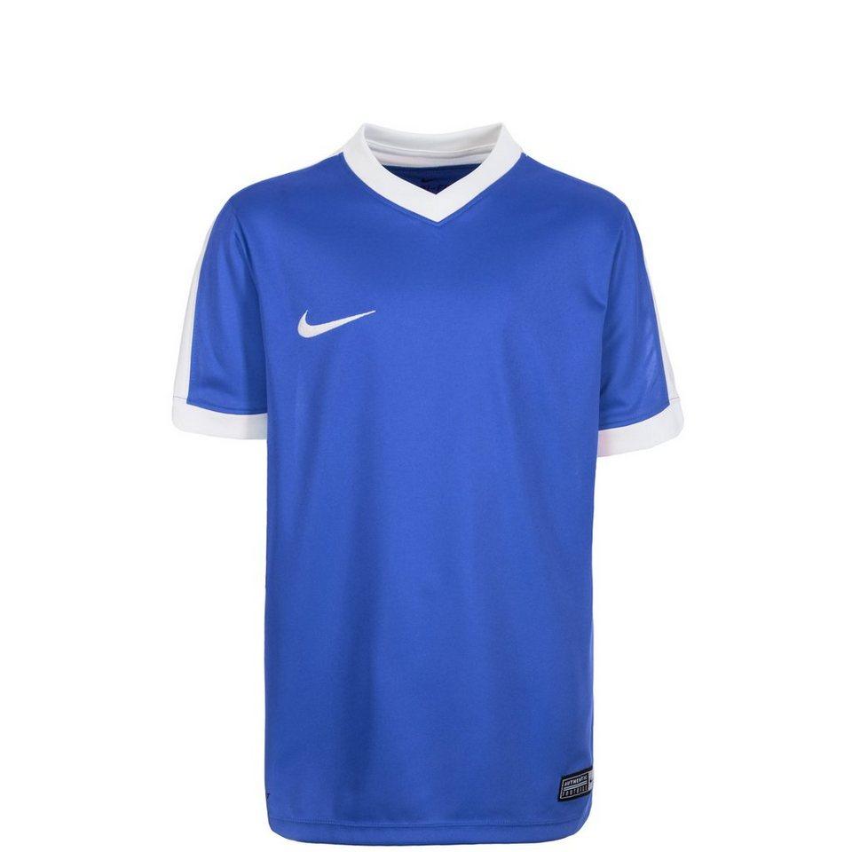 NIKE Striker IV Fußballtrikot Kinder in blau / weiß