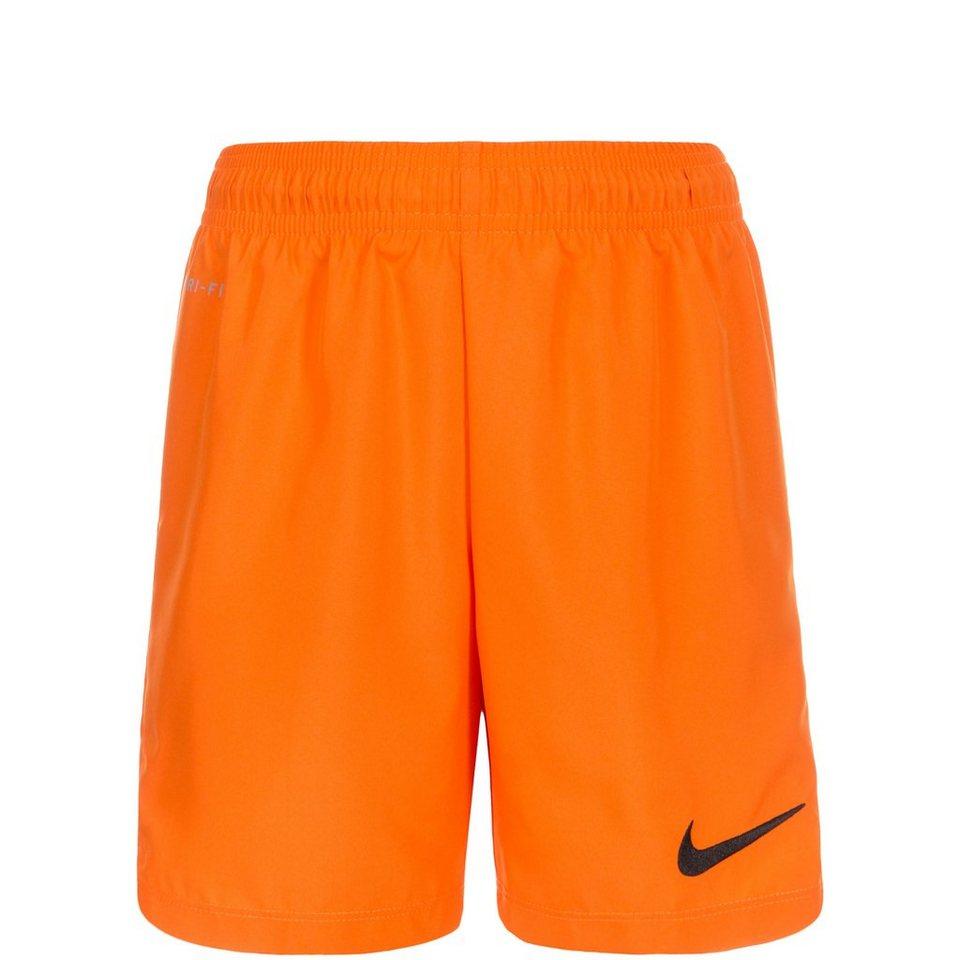 NIKE Laser III Short Kinder in orange / schwarz