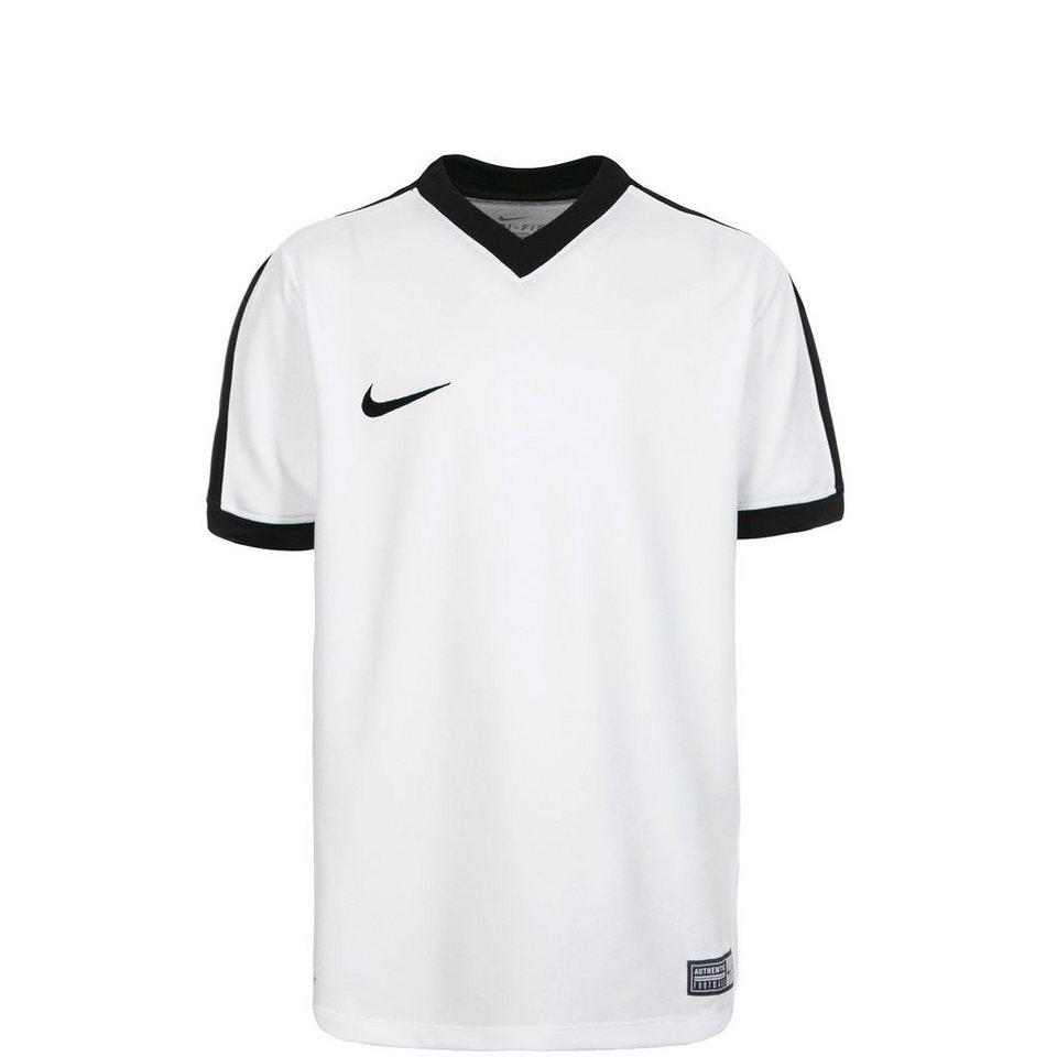 NIKE Striker IV Fußballtrikot Kinder in weiß / schwarz
