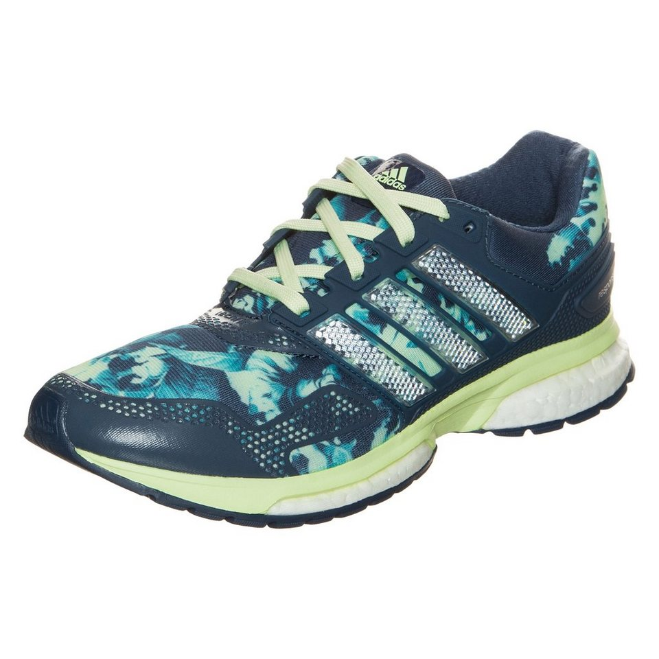 adidas Performance Response Boost Graphic 2 Laufschuh Damen in blau / lime