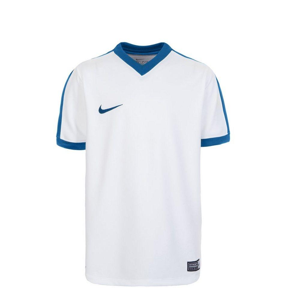 NIKE Striker IV Fußballtrikot Kinder in weiß / blau