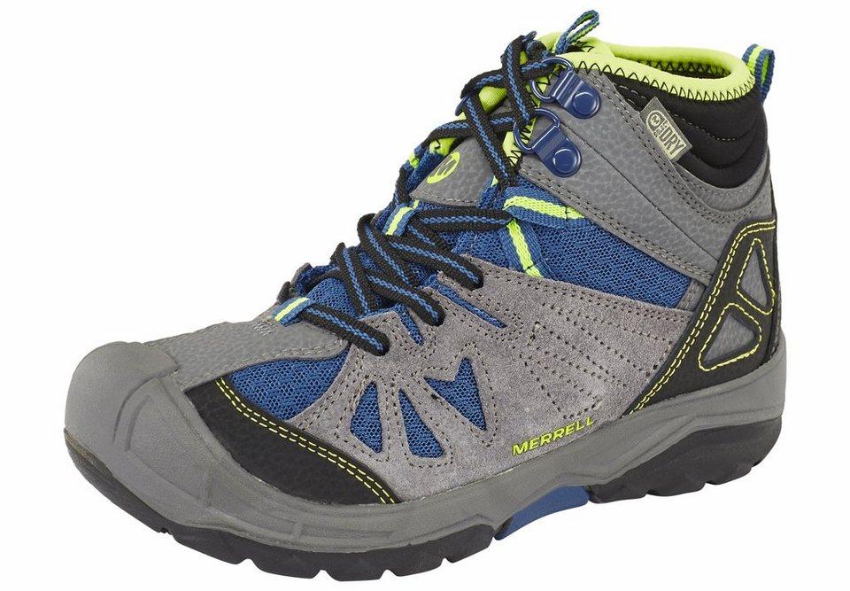 Merrell Kletterschuh »Capra Mid Waterproof Shoes Kids« in grau