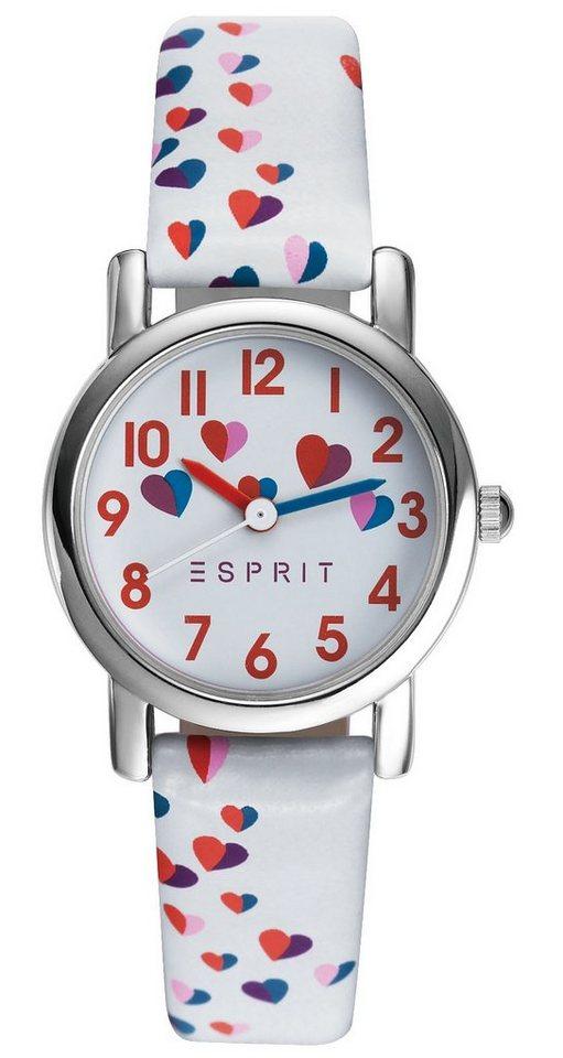 Esprit Quarzuhr »ESPRIT-TP90652 WHITE, ES906524001« in weiß