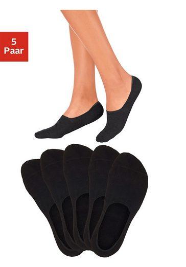 Bench. Füßlinge (5-Paar) für weit ausgeschnittene Schuhe