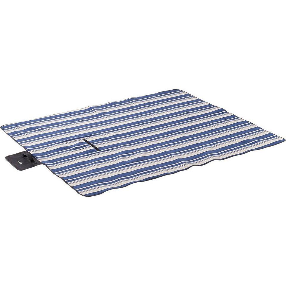 McKinley Decke Picknick Rug Fleece, Größe 2 in blau