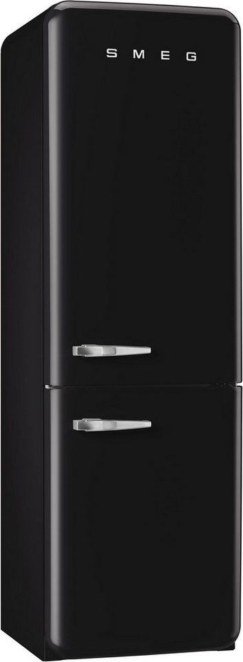 smeg k hl gefrierkombination fab32rnen1 energieklasse. Black Bedroom Furniture Sets. Home Design Ideas