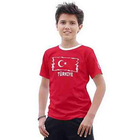 "KIDSWORLD T-Shirt Fanshirt ""Türkiye"""