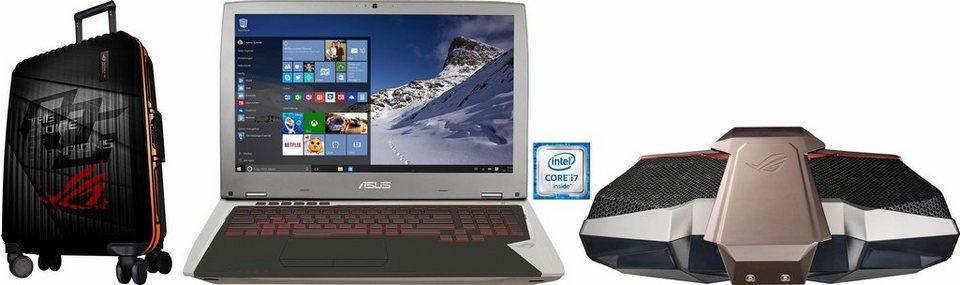 Asus GX700VO-GC009T Notebook, Intel® Core™ i7, 43,9 cm (17,3 Zoll), 512 GB Speicher in silberfarben