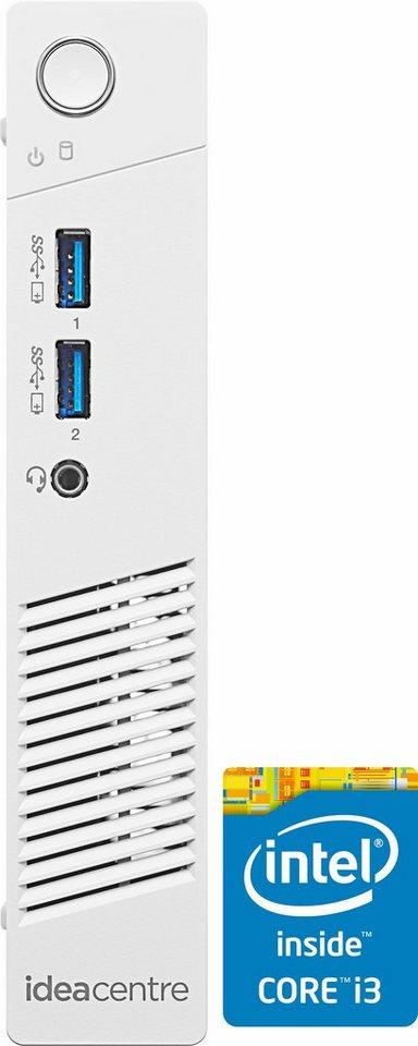 Lenovo Ideacentre 200-01IBW PC, Intel® Core™ i3, 4096 MB DDR3-SDRAM, 1000 GB Speicher in weiß