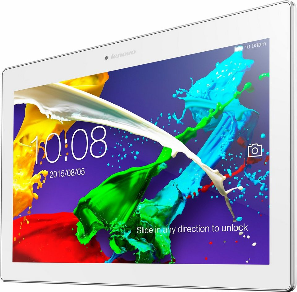 Lenovo Tab 2 A10-70F Tablet-PC, Android 4.4 (KitKat), Quad-Core, 25,7 cm (10,1 Zoll), 2048 MBLPDDR3 in weiß