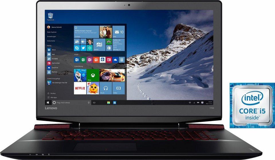 Lenovo IdeaPad Y700-17ISK Notebook, Intel® Core™ i5, 43,9 cm (17,3 Zoll), 1128 GB Speicher in schwarz