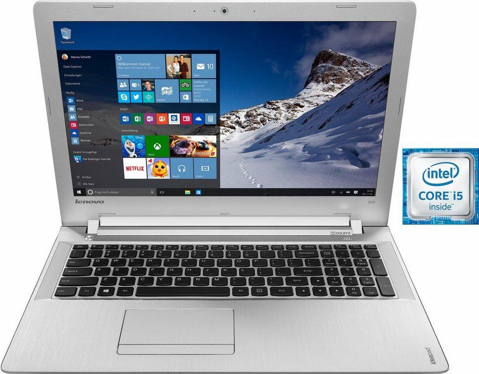 Lenovo IdeaPad 500-15ISK Notebook, Intel® Core™ i5, 39,6 cm (15,6 Zoll), 1000 GB Speicher in schwarz