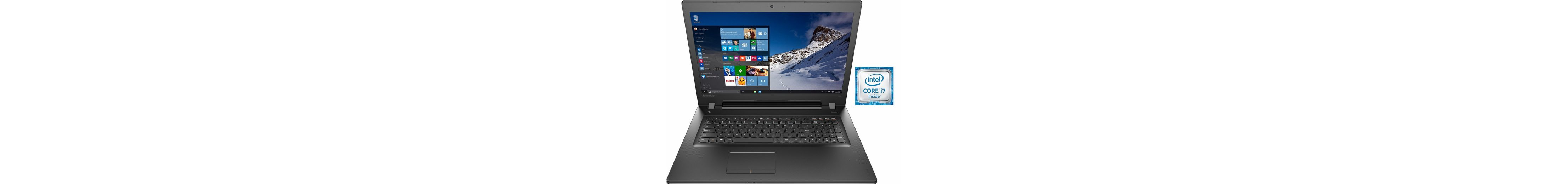 Lenovo IdeaPad 300-17ISK Notebook, Intel® Core™ i7, 43,9 cm (17,3 Zoll), 1000 GB Speicher