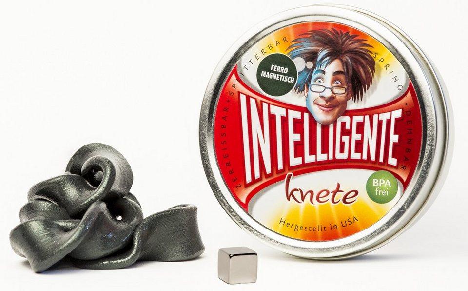 Intelligente Knete Knetgummi, »Ferromagnetisch« in schwarz