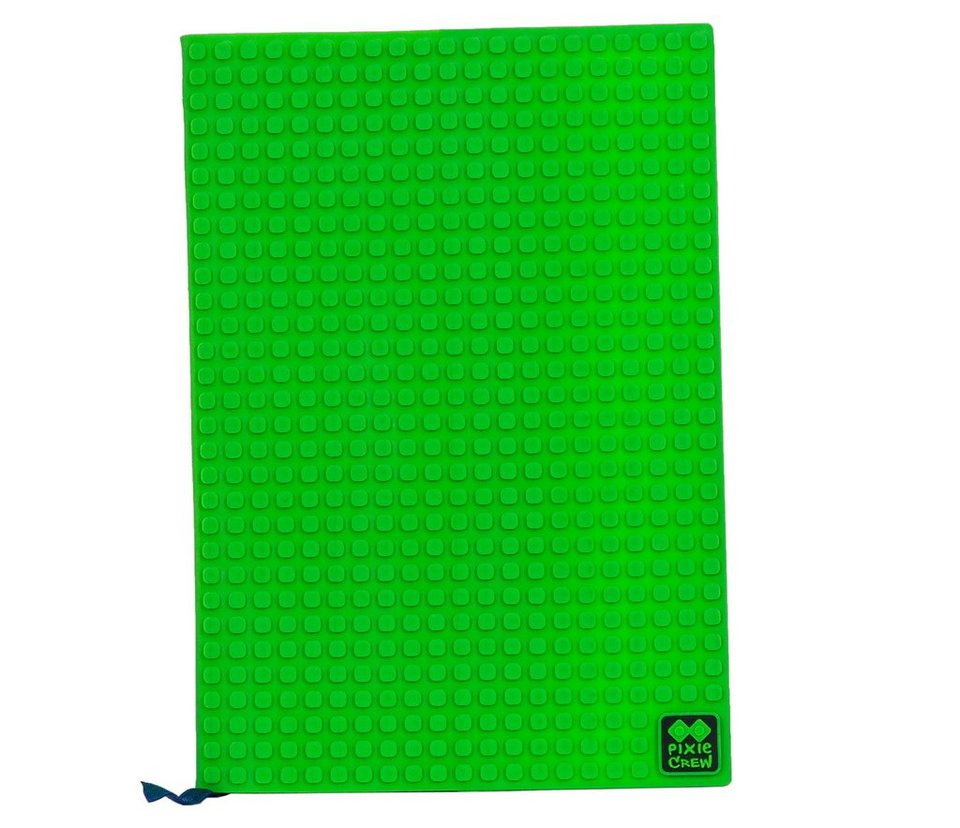 Pixie Crew Notizbuch- Cover A5 mit 100 Pixies in grün