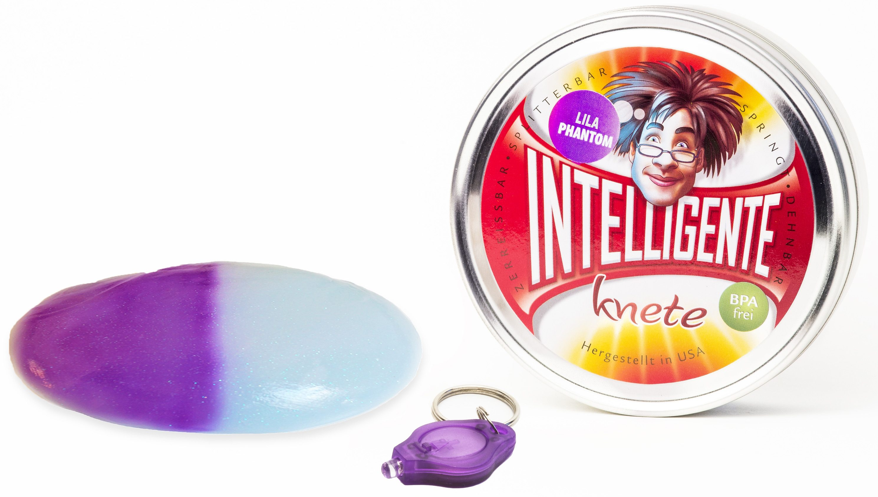 Intelligente Knete Knetgummi mit UV-Lampe, »Phantom«