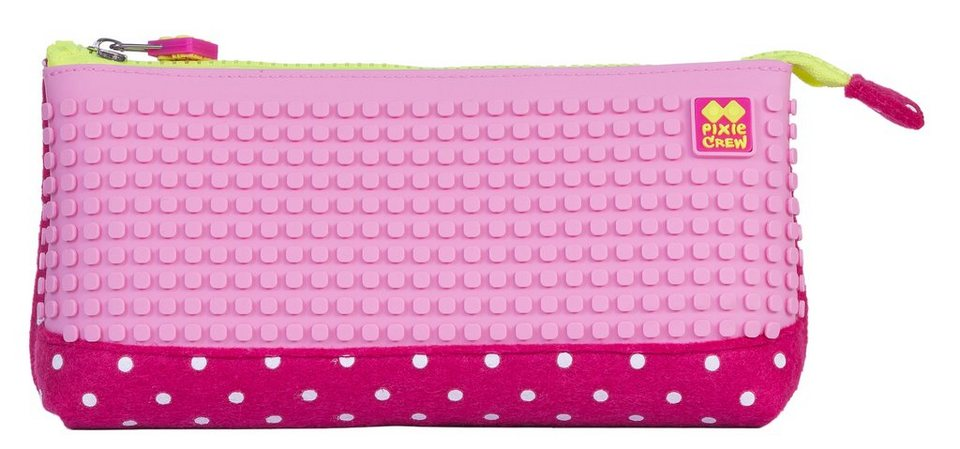 Pixie Crew Schlampermäppchen inklusive 100 Pixies in rosa