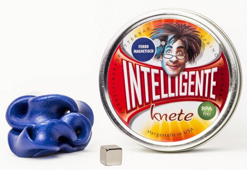 Intelligente Knete Knetgummi, »Ferromagnetisch« in blau