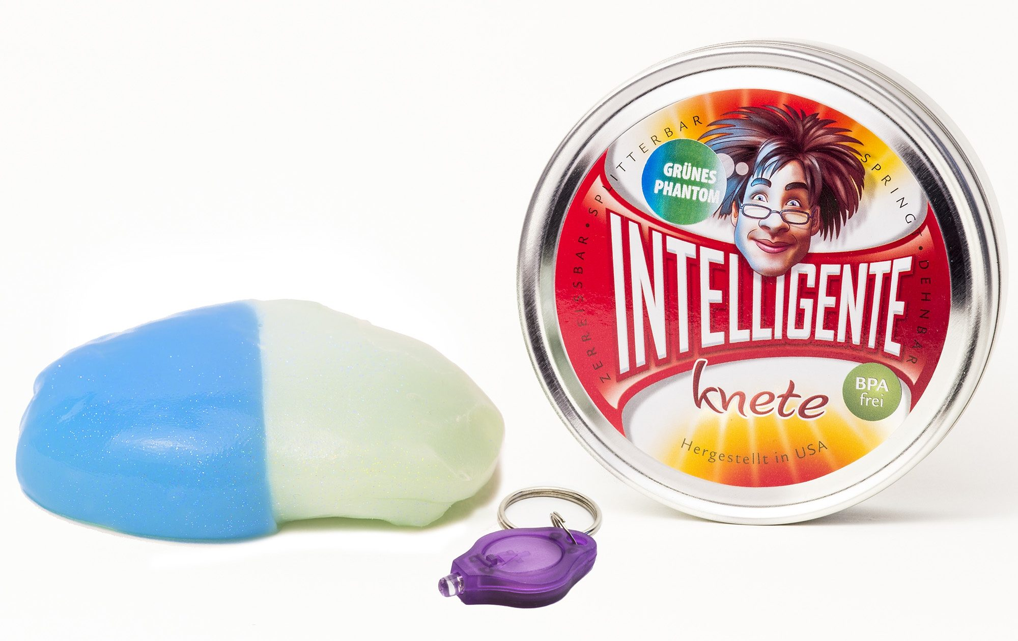 Intelligente Knete Knetgummi mit UV-Lampe, »Phantom«