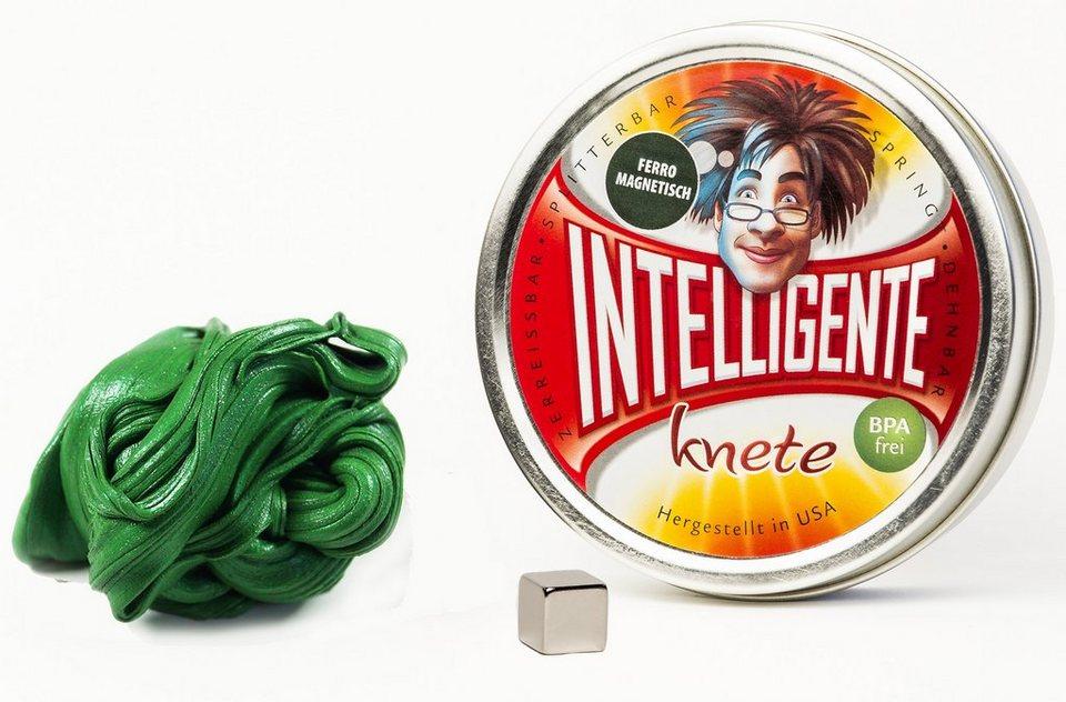 Intelligente Knete Knetgummi, »Ferromagnetisch« in grün
