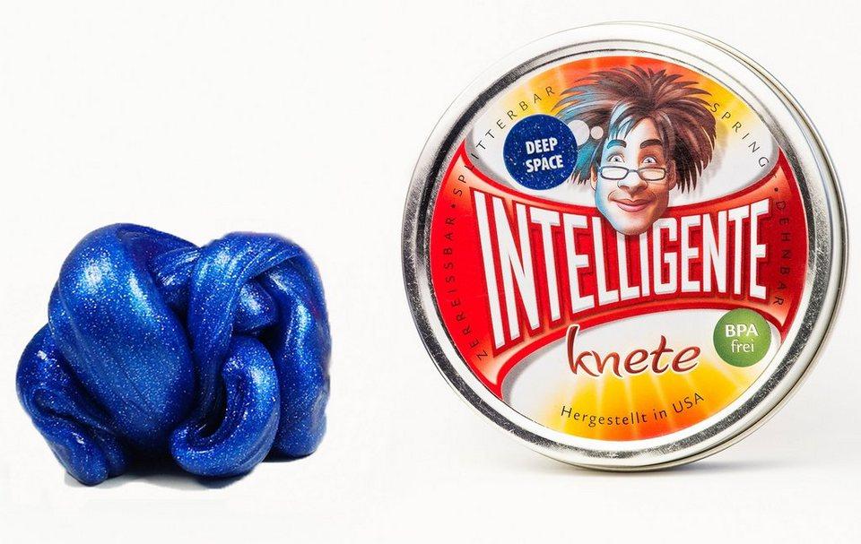 Intelligente Knete Knetgummi, »Glitzer« in Deep Space