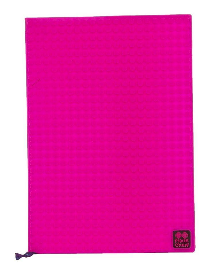 Pixie Crew Notizbuch- Cover A5 mit 100 Pixies in pink