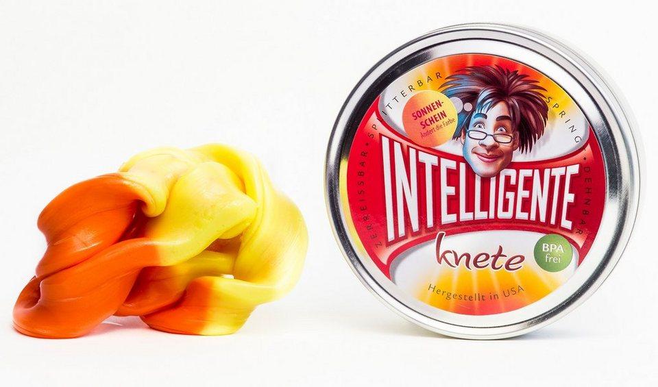 Intelligente Knete Knetgummi, »Farbwechsel« in Sonnenschein
