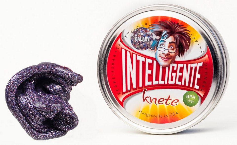 Intelligente Knete Knetgummi, »Glitzer« in Galaxy