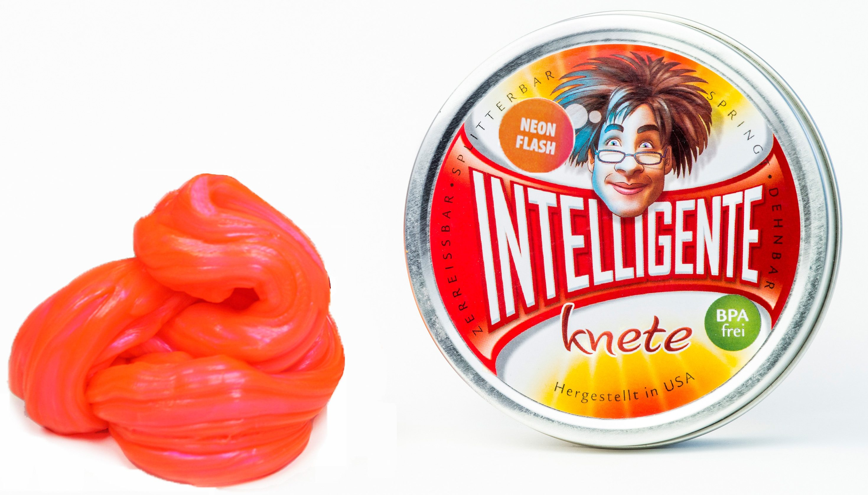 Intelligente Knete Knetgummi, »Neon Flash«