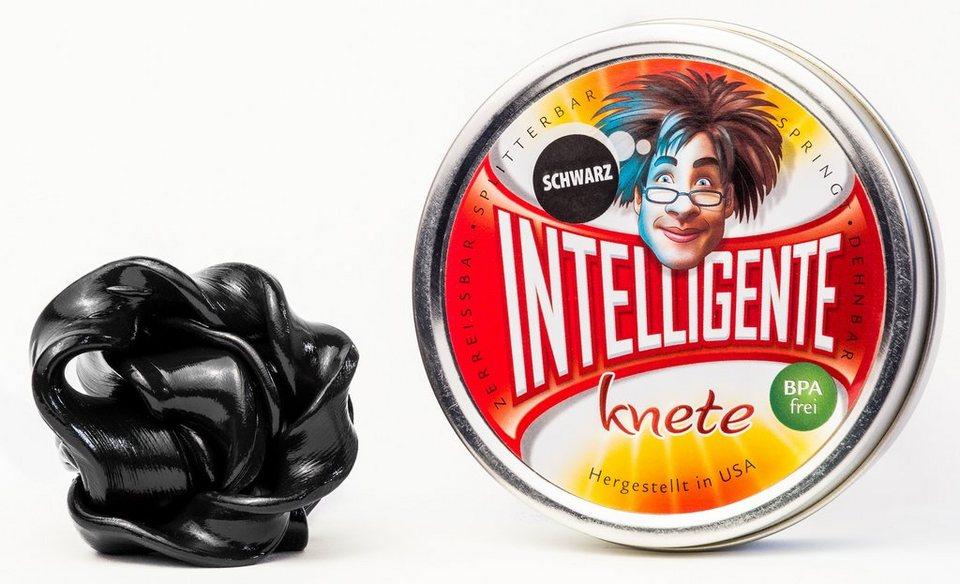 Intelligente Knete Knetmasse, »Einfarbig« in schwarz