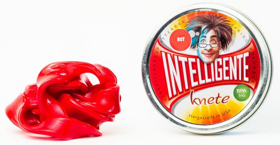 Intelligente Knete Knetmasse, »Einfarbig« in rot