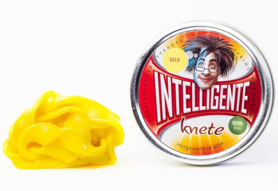 Intelligente Knete Knetmasse, »Einfarbig« in gelb