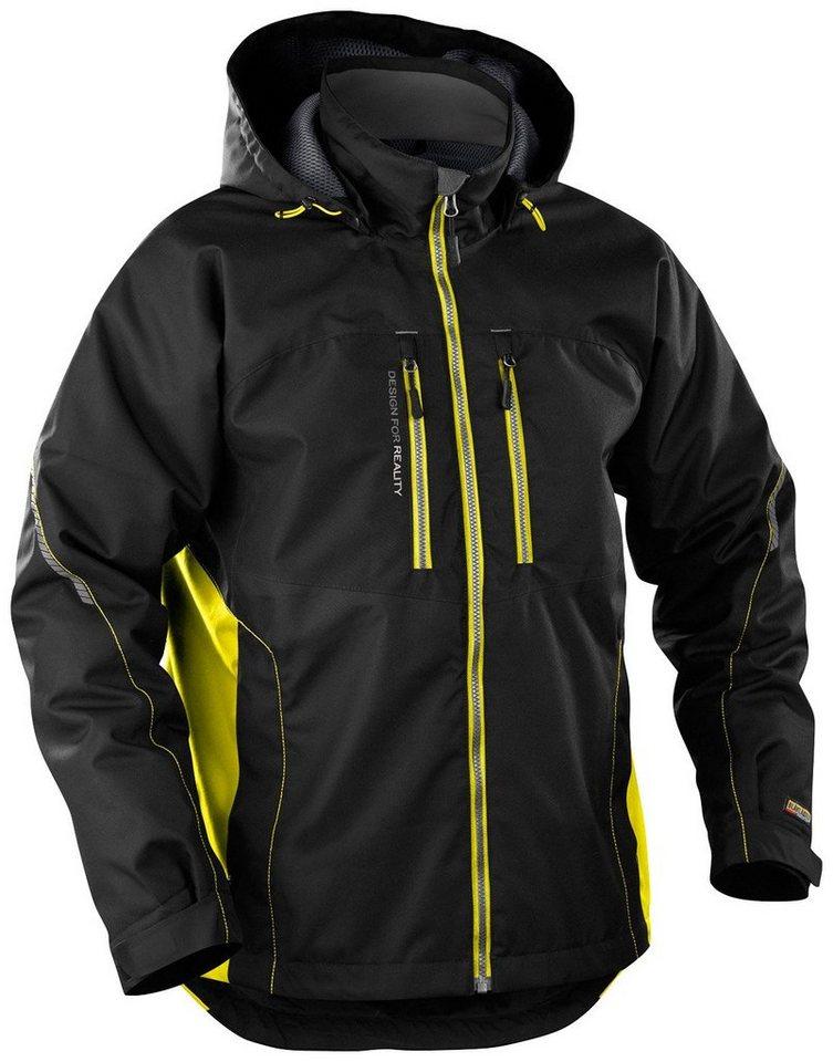 Arbeitsjacke »4890« in schwarz/gelb