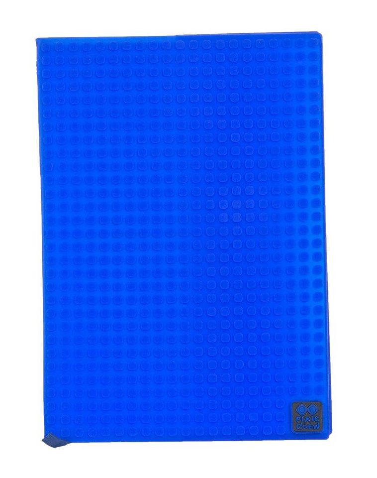Pixie Crew Notizbuch- Cover A5 mit 100 Pixies in blau
