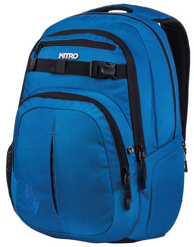 Nitro Schulrucksack, »Chase - Blur brilliant blue« in blue brilliant blue