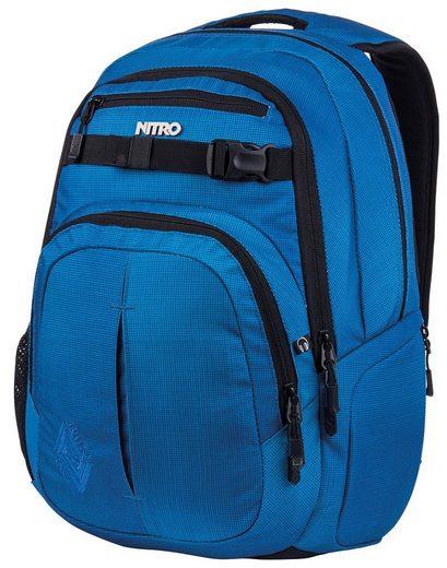 NITRO Schulrucksack »Chase Blur brilliant blue«