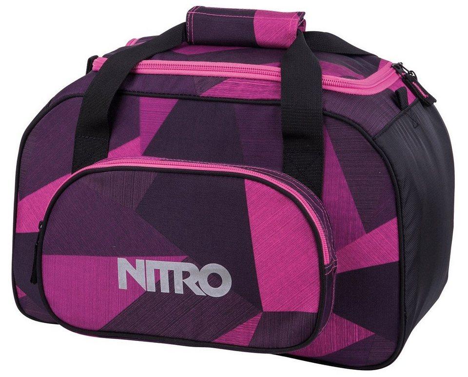 Nitro Reisetasche, »Duffle Bag XS- Fragments purple« in fragments purple