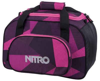 NITRO Sporttasche »Duffle Bag XS, Fragments purple«