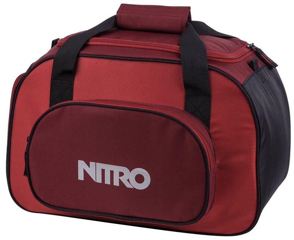 Nitro Reisetasche, »Duffle Bag XS- Chili« in chili