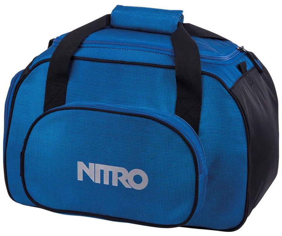 Nitro Reisetasche, »Duffle Bag XS- Blur brilliant blue« in blur brilliant blue