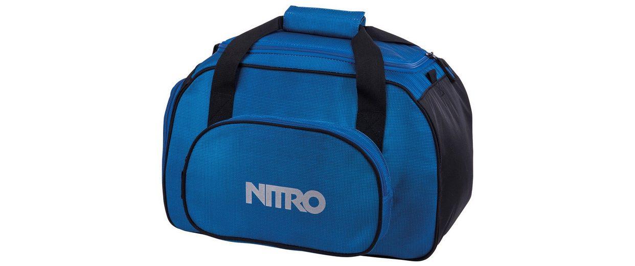 Nitro Reisetasche, »Duffle Bag XS- Blur brilliant blue«