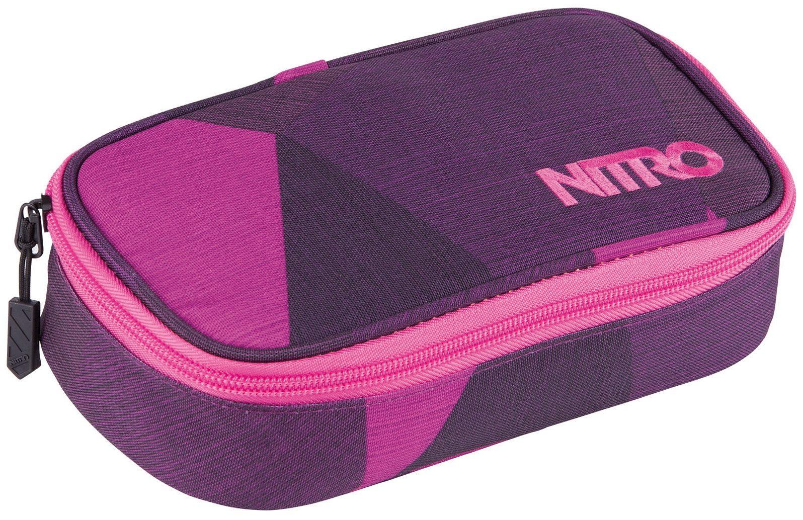 Nitro Federmäppchen, »Pencil Case XL - fragments purple«