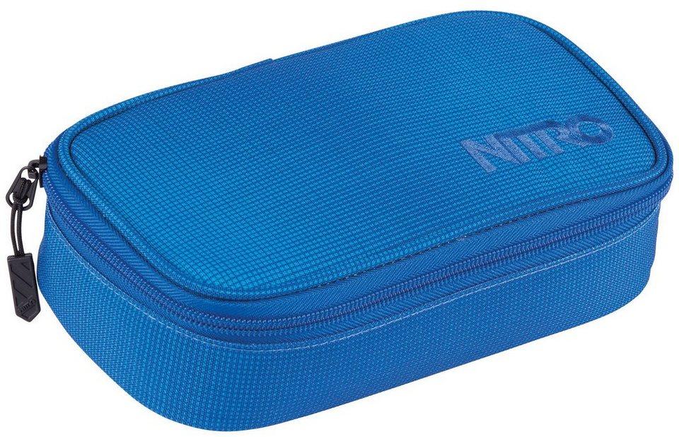 Nitro Federmäppchen, »Pencil Case XL - blur brilliants blue« in blur brilliant blue