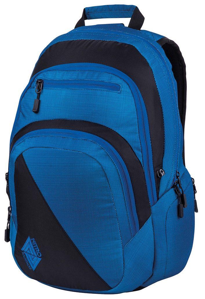 Nitro Schulrucksack, »Stash - Blur brilliant blue«