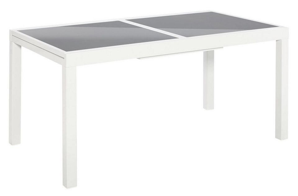 merxx gartentisch amalfi ausziehbar aluminium 160 220x90 cm online kaufen otto. Black Bedroom Furniture Sets. Home Design Ideas