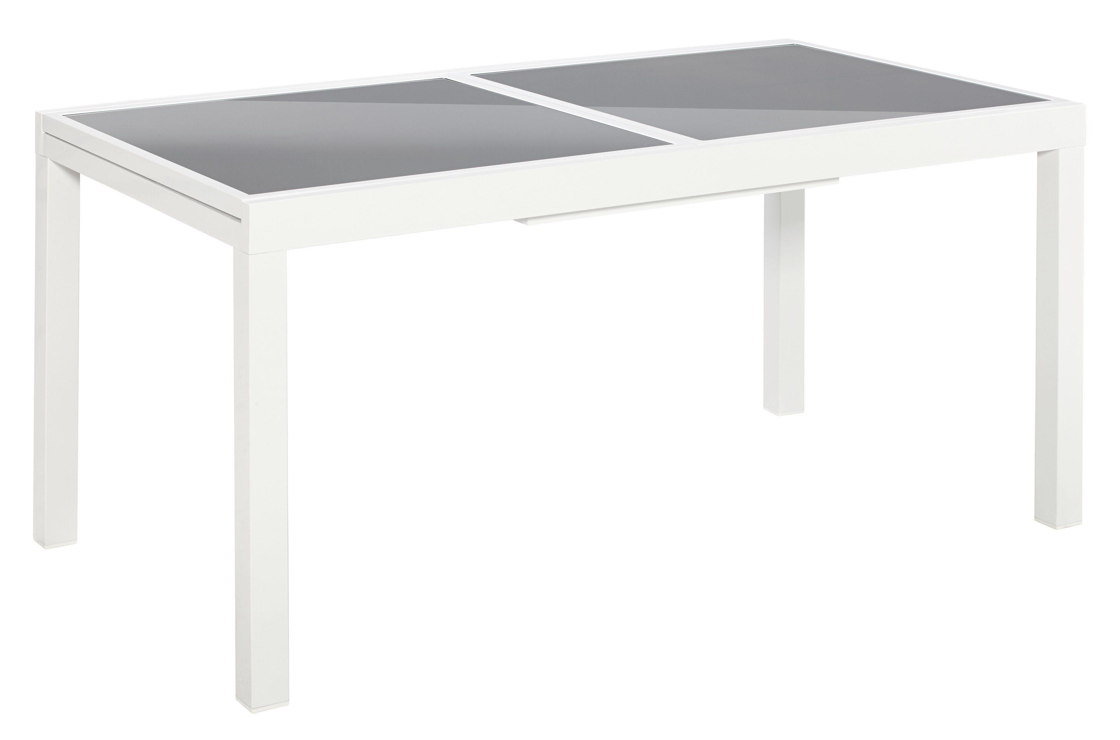 MERXX Gartentisch »Amalfi«, ausziehbar, Aluminium, 160-220x90 cm