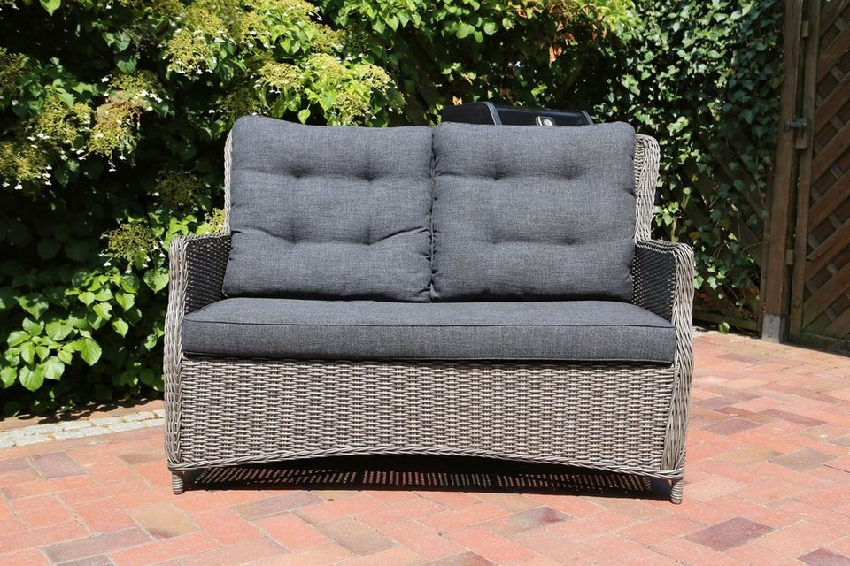 destiny loungesofa casa polyrattan inkl auflagen. Black Bedroom Furniture Sets. Home Design Ideas