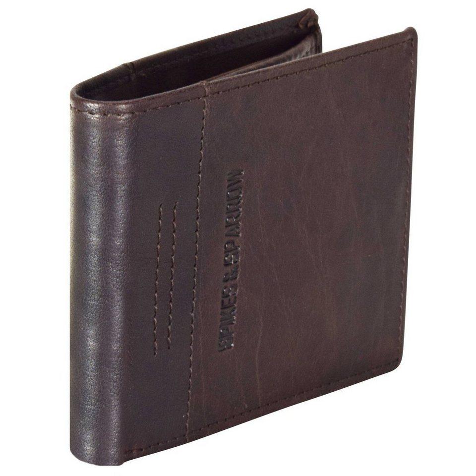 Spikes & Sparrow Bronco Wallets Geldbörse Leder 11,5 cm in braun