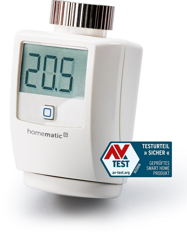 Homematic IP - Smart Home - Energie & Komfort »Heizkörperthermostat« in weiss