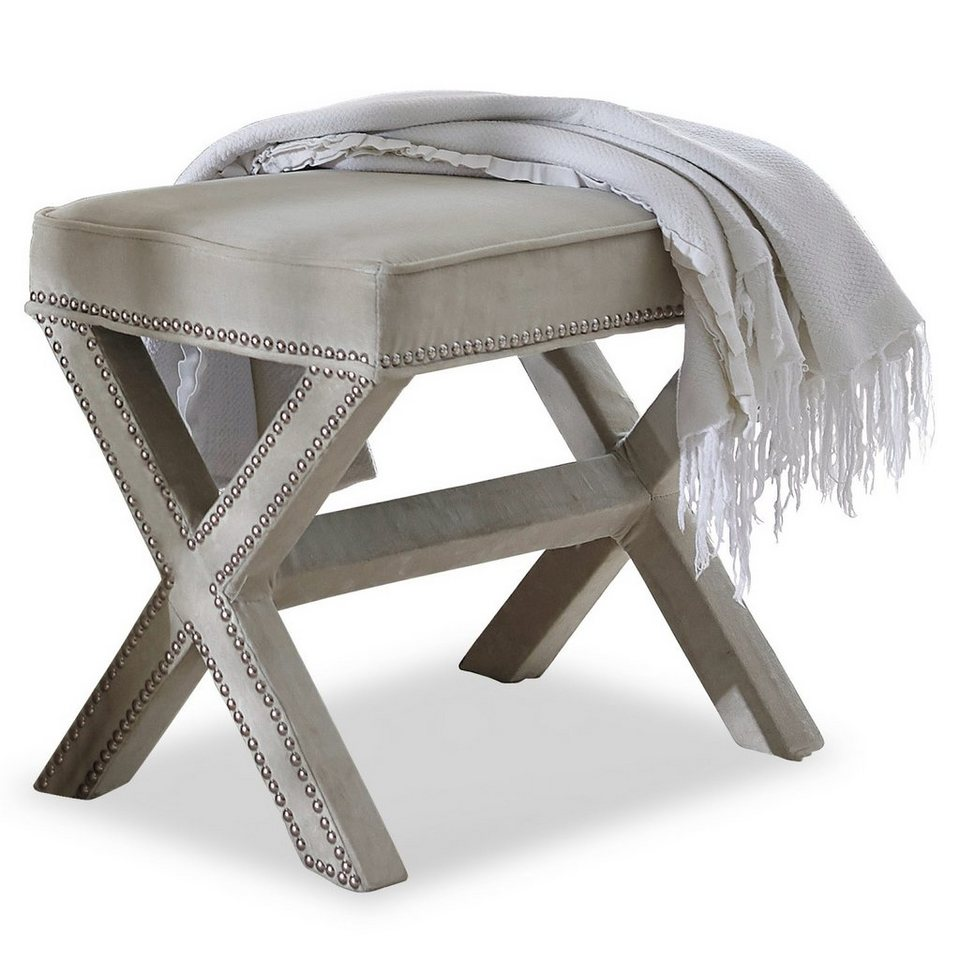 Loberon Hocker »Cato« in beige